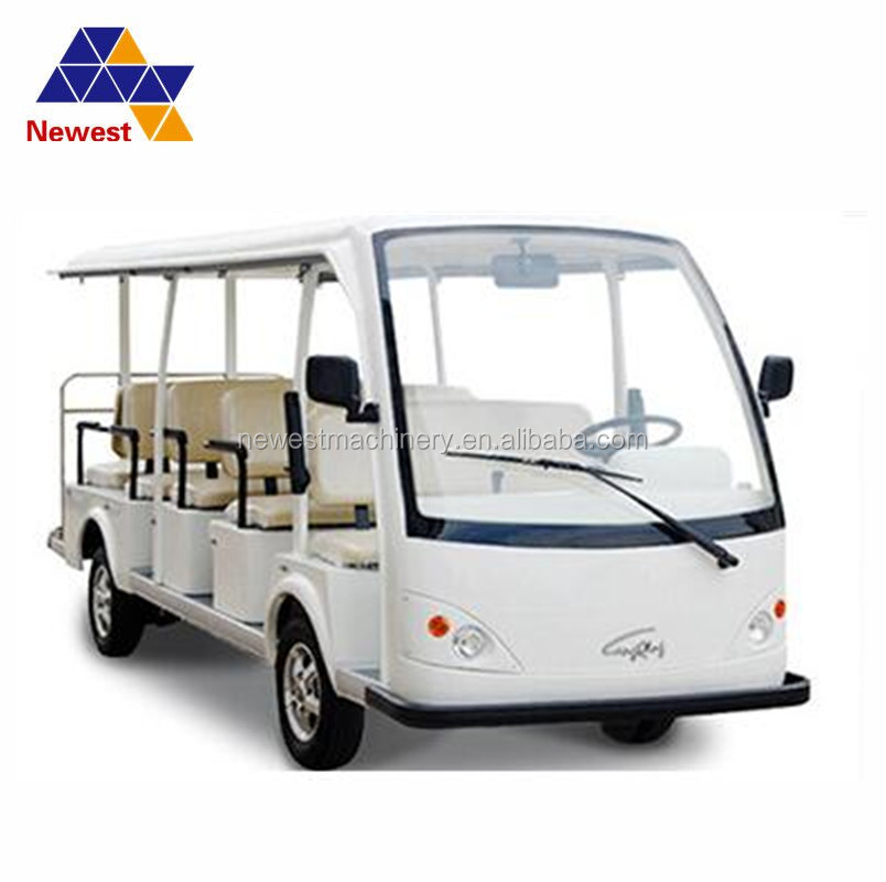 Color customized 11 electric passenger vehicles/sightseeing shuttle automobiles