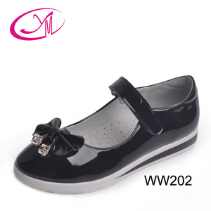 Direct factory hot sale genuine shoes fancy school kids shoes canada
