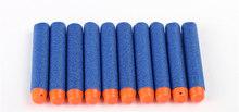 Флуоресцентные Дротика 100 шт., универсальные стандартные пули из пенопласта с круглой головкой для игрушечного пистолета Nerf, 10 цветов(Китай)