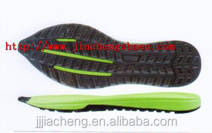 Shoe Sole For Sport Shoes,Eva+rb Shoe Sole Material