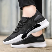 Famous sport men shoes with light low price men sneakers manufacturers