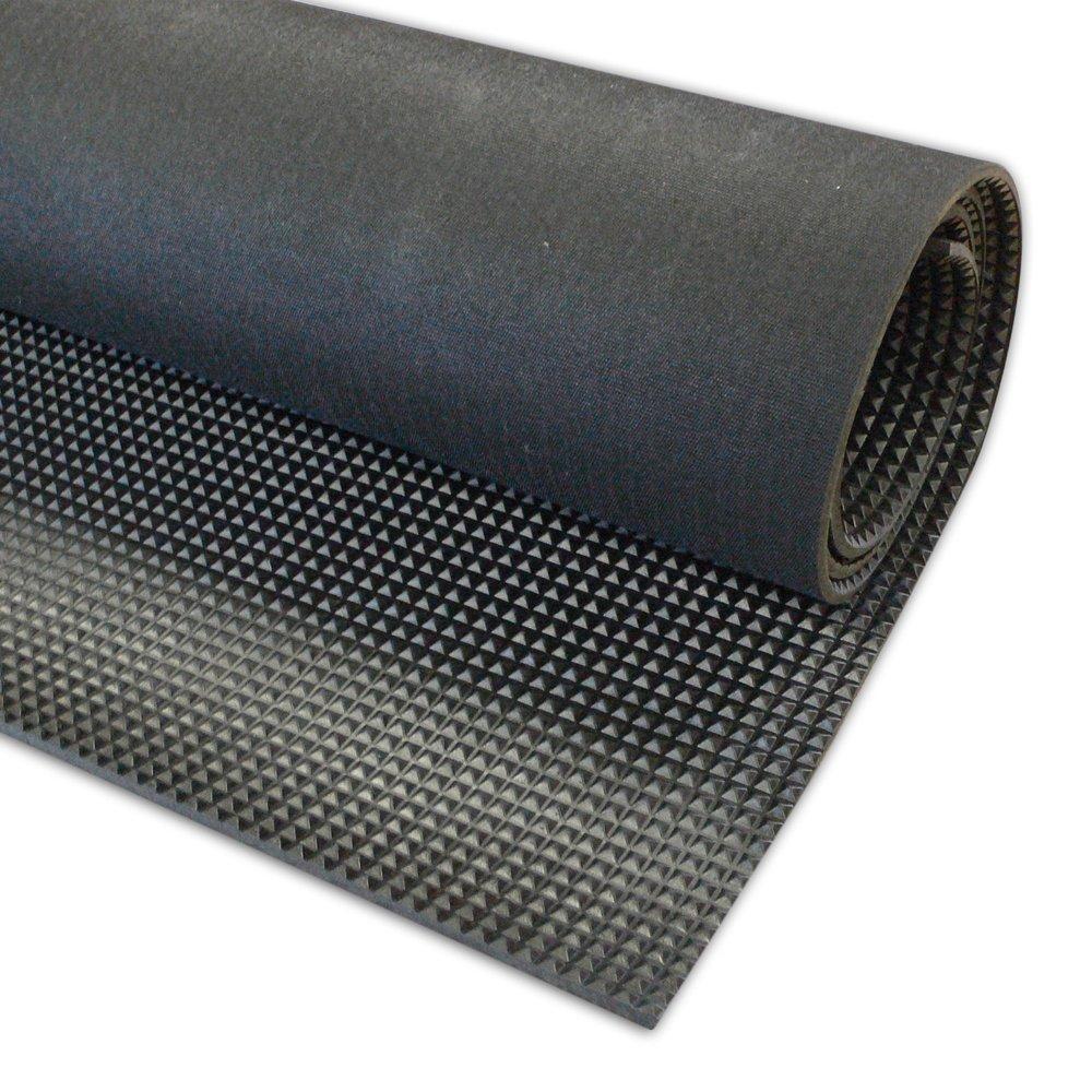 Non Slip Rubber Floor Tiles : Great wall good quality pyramid rubber sheet anti slip mat