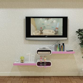 Tv Op Plank Aan Muur.Thuis Diy Moderne Houten Decoratieve Tv Wandplank Buy Thuis Hout