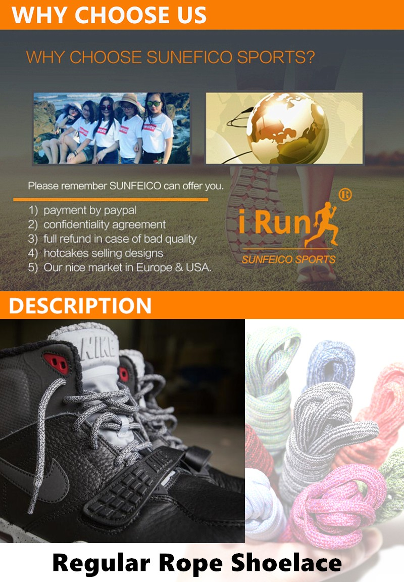 27ab3f3d4ec63 Customized Regular Mottle Pattern Round Laces for Hikers - Round Pattern  Fitness Shoes Shoelaces Strings -
