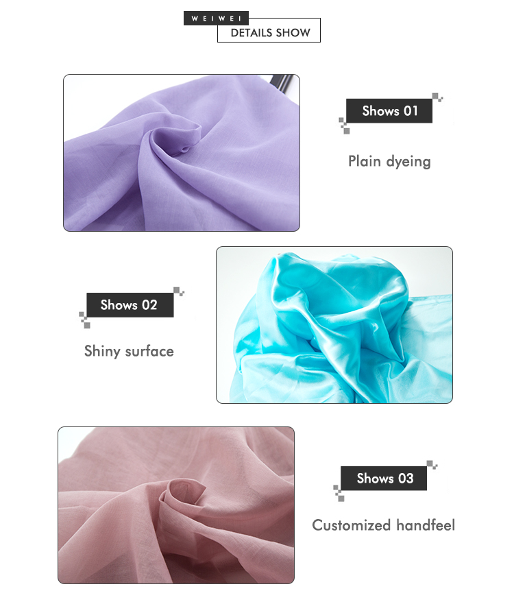 Hot sell 2020 new design pure polyester dirty dyed scarf