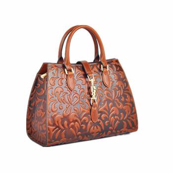 Fashion Elegant French Designer Leather Handbags Girls Genuine Leather  handbag 6d87256329086
