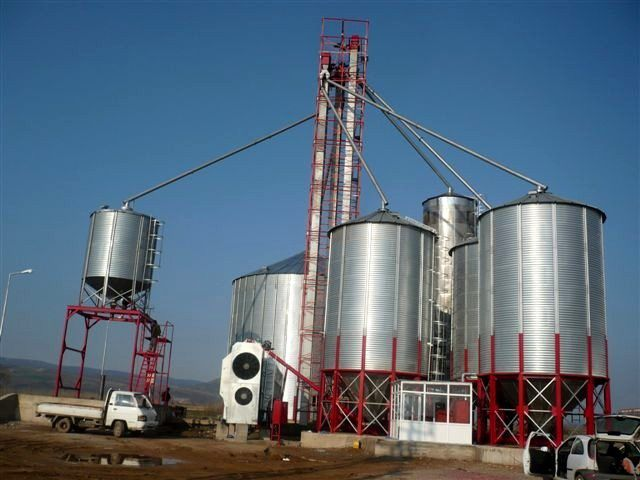 10000 Tons Used Galvanized Steel Paddy Grain Silo Machine for Sale