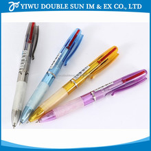 Promotional Fashion stationery cheap price fancy plastic ballpoint pen for school and office
