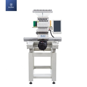 BAI same quality tajima brother embroidery machine single head