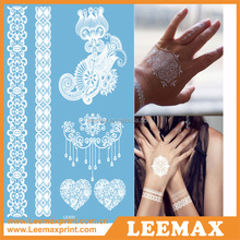 LM1014 Fashion jewelry 2015 gold and silver body tattoos Arabic tattoos bike tattoo sticker