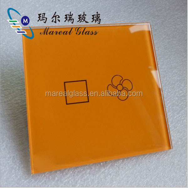 touch switch crystal glass panel for smart home for hotel