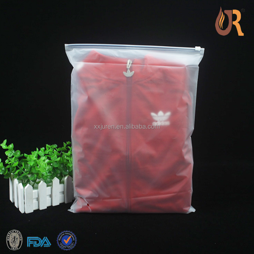 high quality custom printed cloths cheap wholesale clear PVC zipper bag