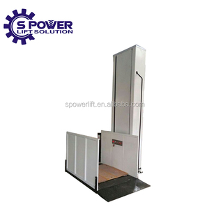 outdoor vertical stair electric hydraulic wheelchair lift for disabled lift platform price