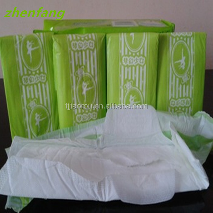Disposable soft sanitary napkin/feminine pads wholesale fo ra dream girl
