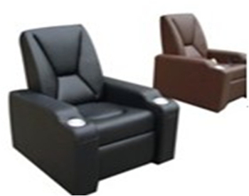 Supply Leather Recliner Sofa/Cinema Furniture From Manufacture Recliner  Single Sofa LS805A