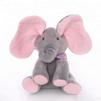 2019 Cruddy Chinese Baby Soft Plush Elephant Toy