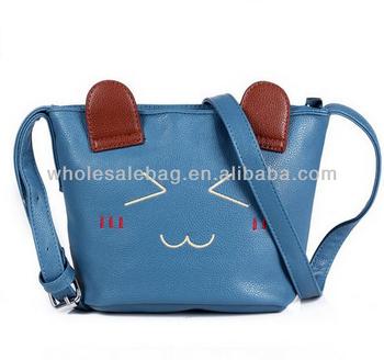 6525c017a Cute Sling Bag Cat Messenger Bag Wholesale Cross Body Bag For Girls Woman  Ladies