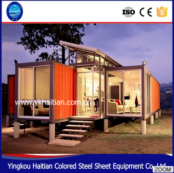2016 pop hot sale new foldable prefab container portacabin shop/Container House