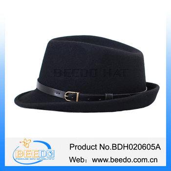 5f01eb3af49d0 Cheap Black Gangster Dobbs Hats Wholesale - Buy Cheap ...