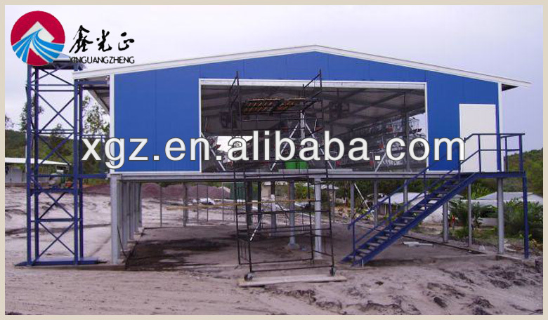 poultry house chicken structure