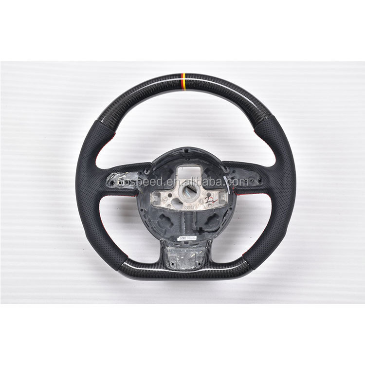 For Audi Racing Steering Wheel Carbon Fiber Steering Wheel For Audi A1 A3 A4 A5 A7