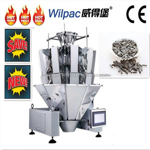 China factory price 2.5L 14 heads standard non spring combination weigher for sunflower seeds with CE and high accuracy