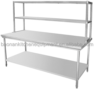 Commercial Kitchen Stainless Steel Work Table
