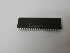 PIC16F887-i/p MICROCHIP DIP PIC16F887 8/40/44-Pin, Enhanced Flash-Based 8-Bit CMOS Microcontrollers with nanoWatt Technology