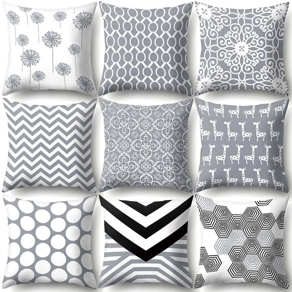 Geometric Design Throw Pillow Case 7*7 Pillow Cover Pillowcases  Decorative Pillows Pillow Cases Body Pillow Home Decor