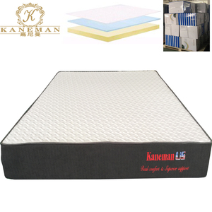 America high end knitted fabric compressed memroy foam mattress