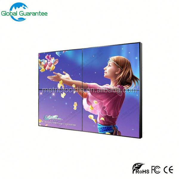 Big size Marvel brand 4k full hd 46inch LCD video wall with touch screen advertising tv
