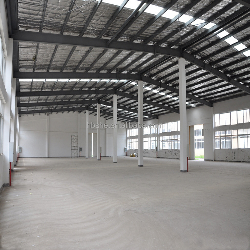 Sanhe clear span steel structure workshop used industrial sheds warehouses in dubai