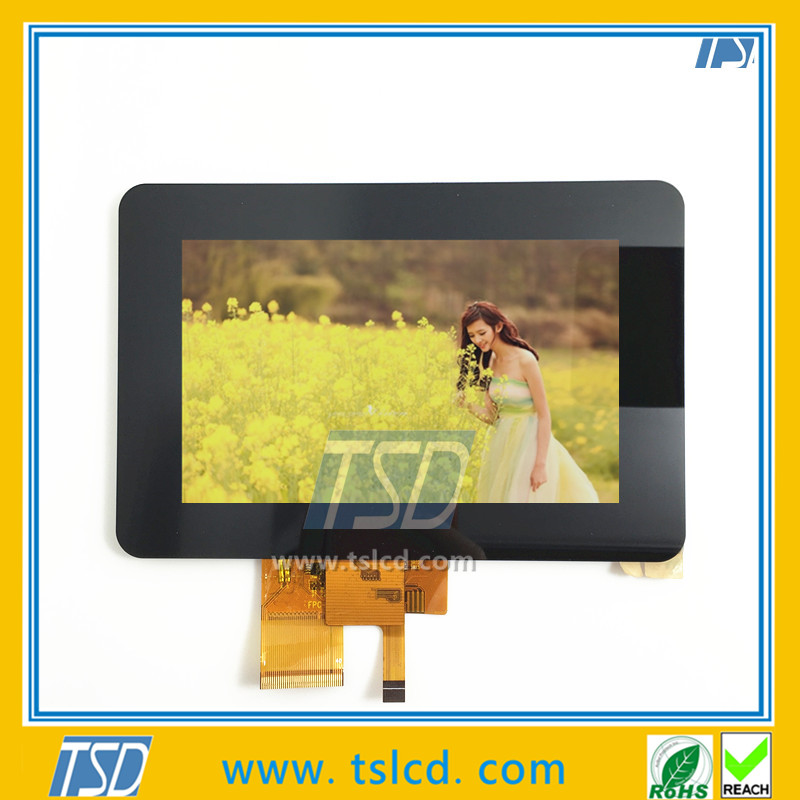 LCD tft monitor standard 5.0 inch with touch screen
