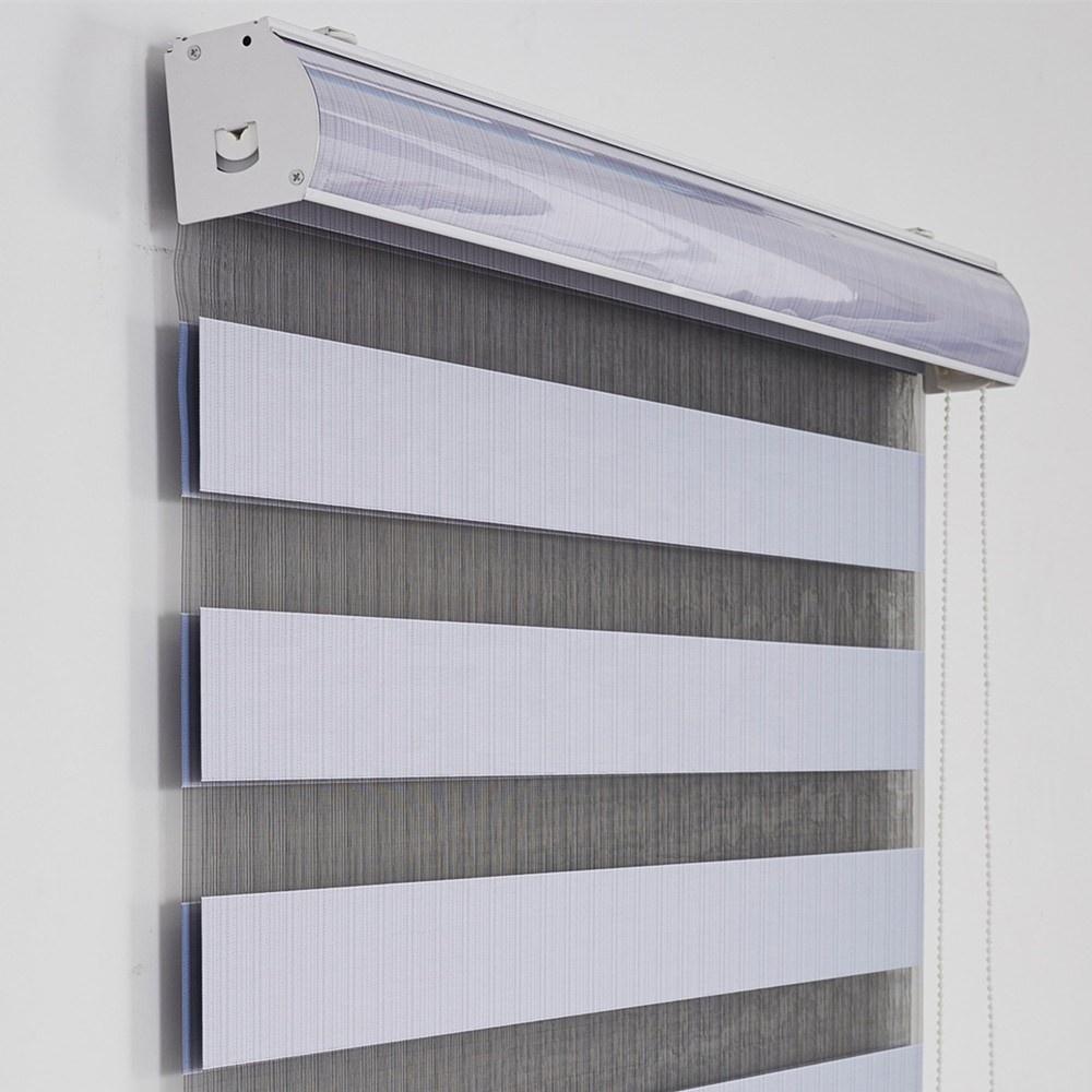 USA standard project use Manual Motorized window sunscreen blackout zebra roller blinds vertical waterproof smart shades