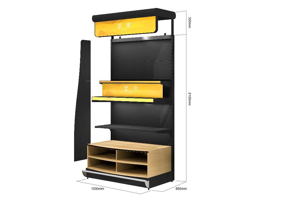 round display shelves gondola supermarket steel shelf. Black Bedroom Furniture Sets. Home Design Ideas