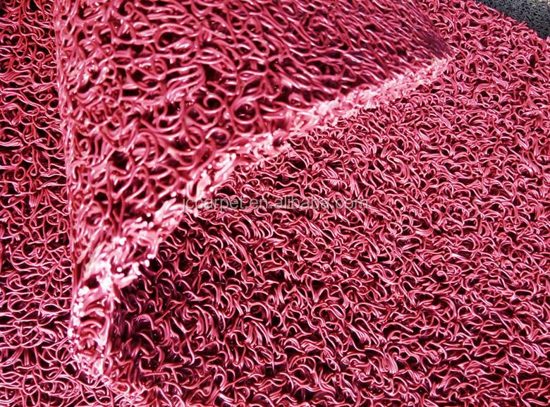 Pvc Vinyl Loop Anti Slip Car Mat Roll/colorful Car Floor Mats ...