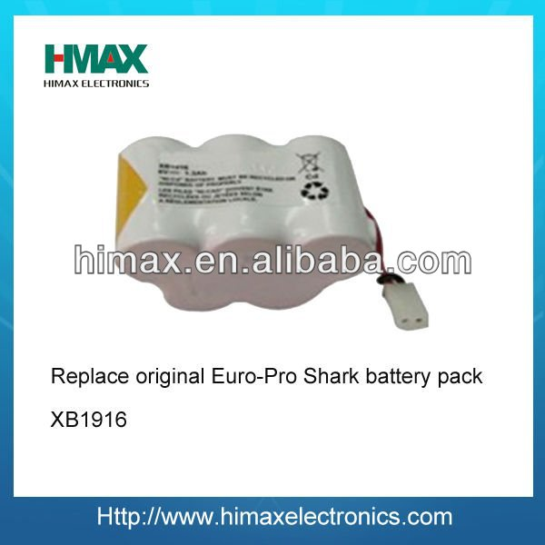 1/3AA NIMH 6V Rechargeable Cell Battery Pack