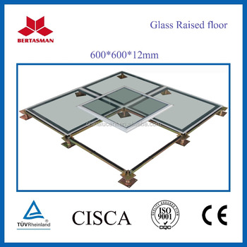 Glass Raised Access Floor System