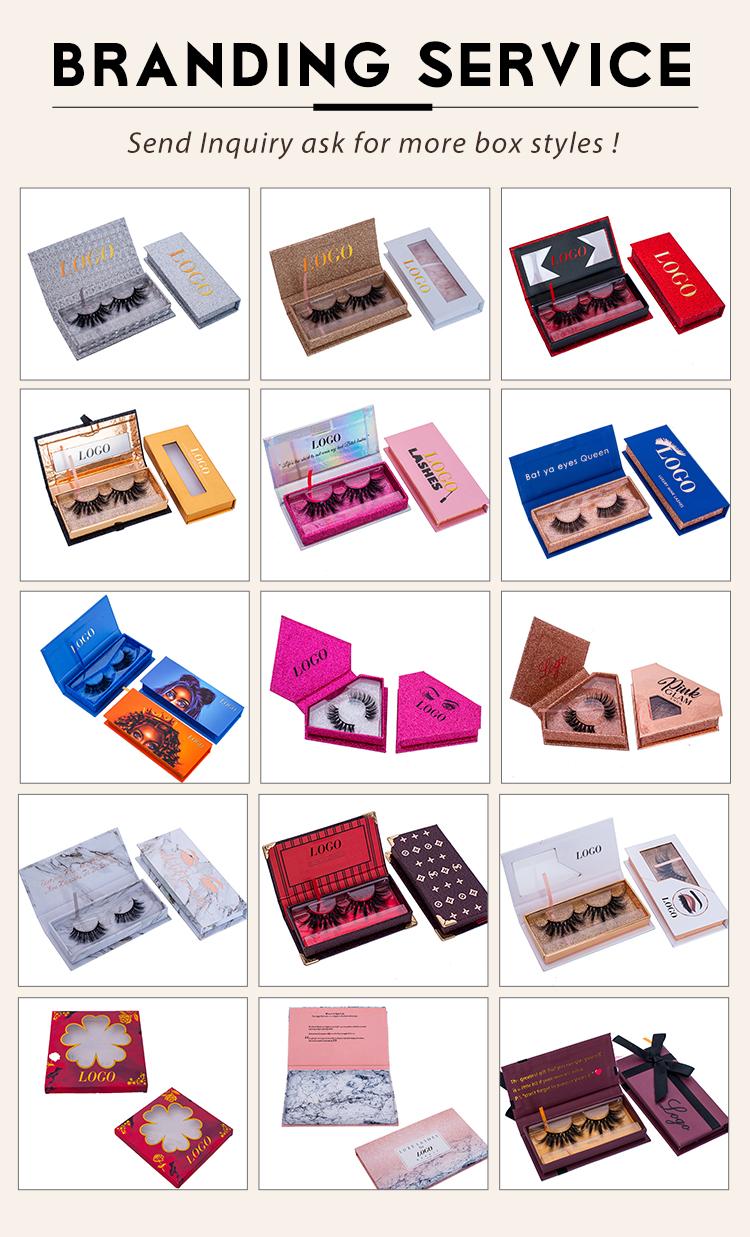 लक्जरी कस्टम बरौनी पैकेजिंग, मिंक eyelashes निजी लेबल Eyelashes