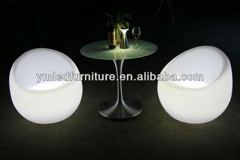 Cool Bar/club/party/wedding/KTV/hotel illuminated Led Glowing Chair