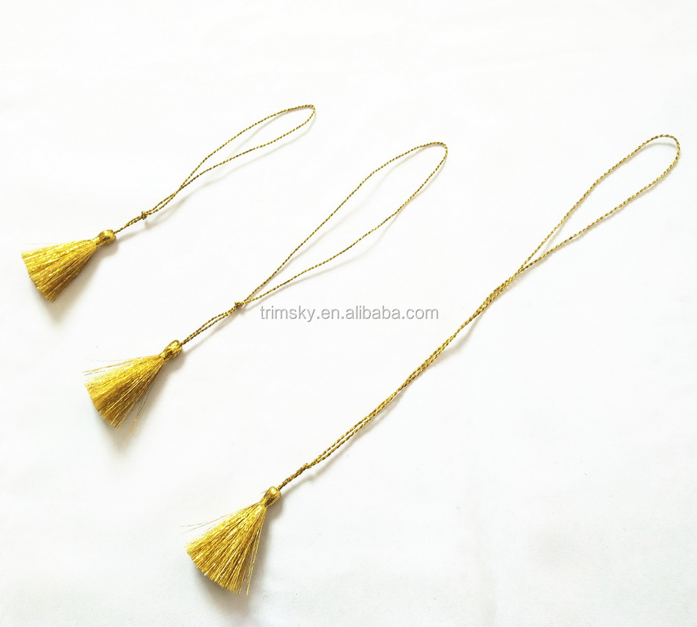 Gold Tassels For Wedding Invitation Card Buy Tassel For Jewelry Decorative Colorful Tassels Colorful Small Tassel Product On Alibaba Com