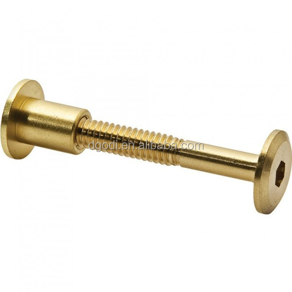 Marvelous Custom High Quality Hardware Fasteners Brass Furniture Bolt And Nut