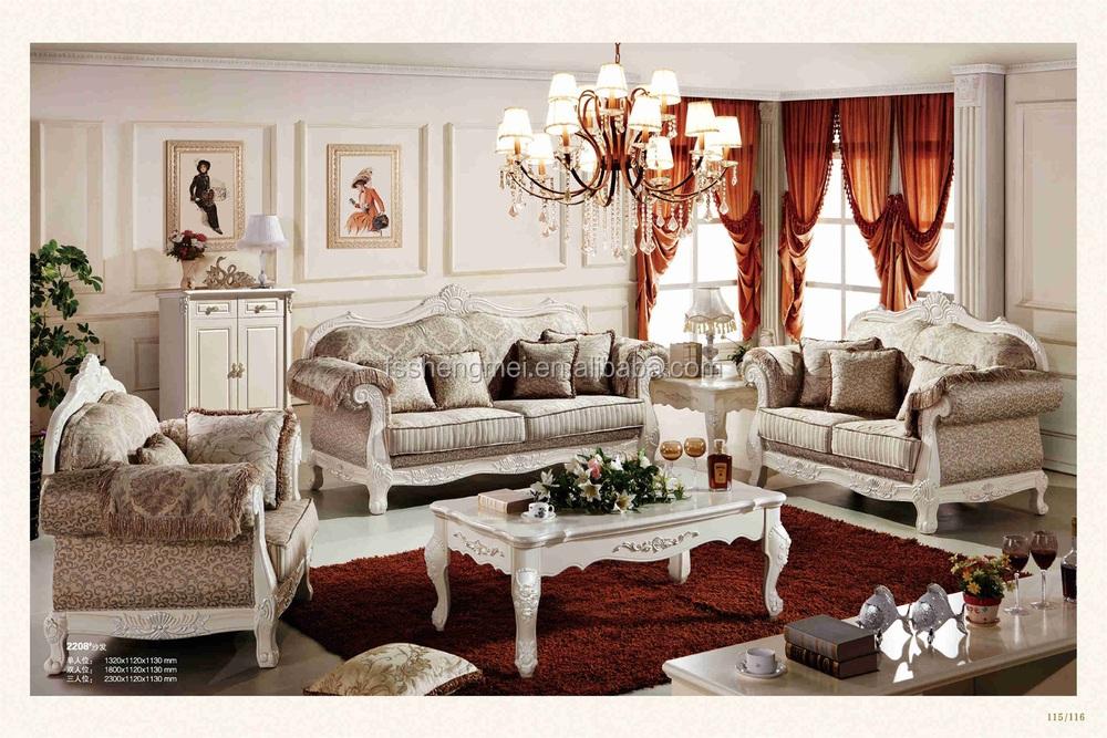 Silver Fabric Sofa Sets Wood Carving Sofas Living Room Sofa Set