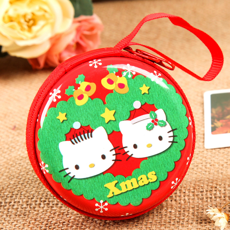 Wholesale Christmas Coin Purse with Custom