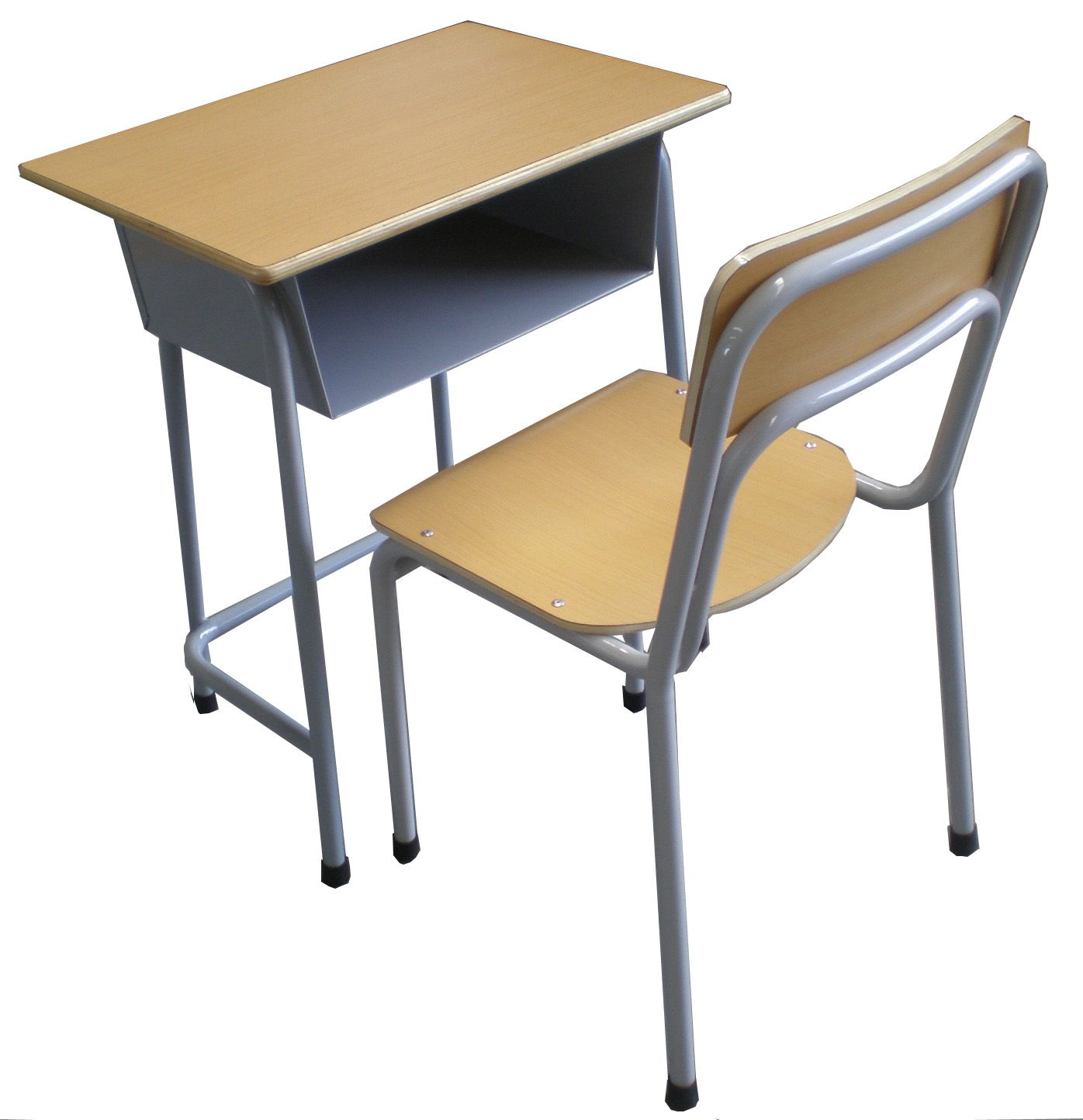 Cheap Price Factory Study Desk Single School Student Desk And