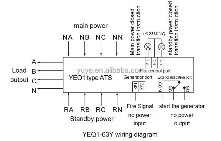 3 pole transfer switch wiring diagram   37 wiring diagram