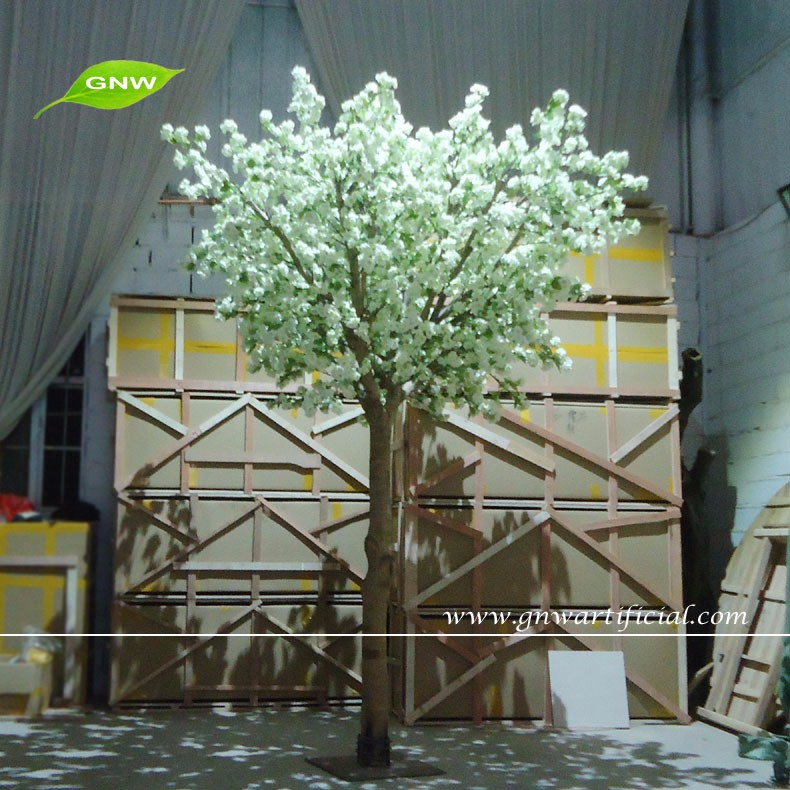 GNW BLS022 10ft white Decorative crystal trees Cherry blossom for ...