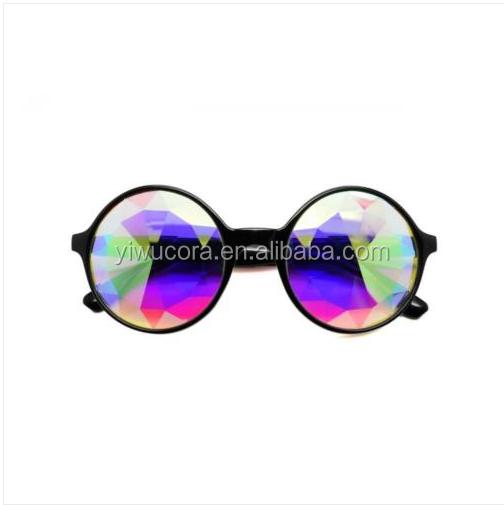 Kaleidoscope Glasses Rave Sunglasses Festival Dance Rainbow Lens Retro Goggles