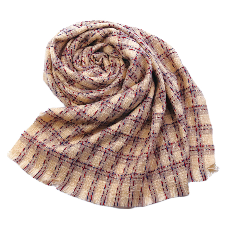 Winter warme sjaal wrap tassel fringe plaid pashmina sjaal