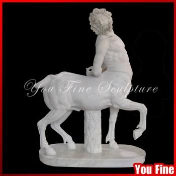 Marble Centaur Chiron Greek Garden Statues